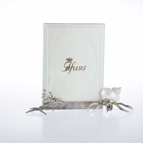 Cornice paguro in argento 800/ooo  Infuso argenterie