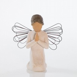 Statua Willow Tree angel of prayer